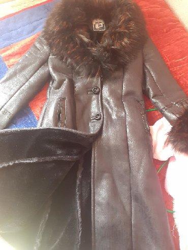 Женская одежда в Беловодское: Дубленка ×размер xl