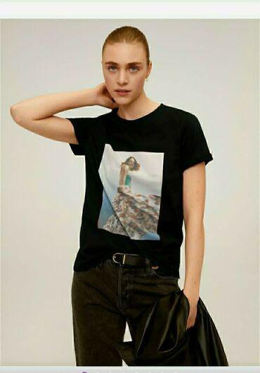 Женская одежда - Маловодное: Женская футболка  Mango  Размер: S   100% cotton  Бангладеш