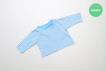 Топы и рубашки - Голубой - Киев: Дитяча кофтинка у смужку Early days, вік 0-3 міс.    Довжина: 22 см Ши