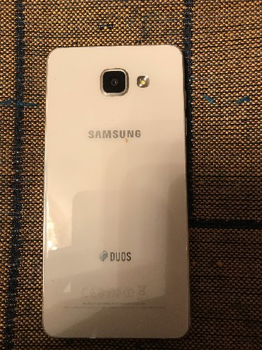 mobile в Кыргызстан: Б/у Samsung Galaxy A5 2016 32 ГБ Белый