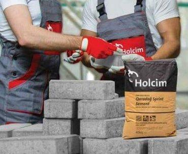 Bakı şəhərində Holcim Sprint 500 marka - 7.20 Azn Çatdırılma Pulsuz
