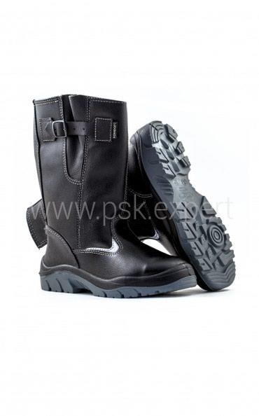Сапоги Комфорт с металлическим подноском (рабочая обувь)Модель