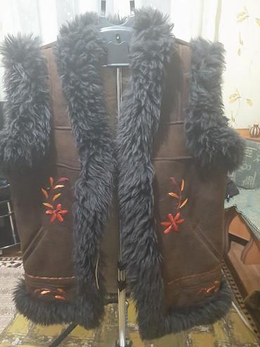 Пальто - Кок-Ой: Безрукавка натуралка