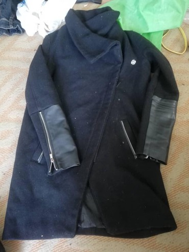 Пальто - Сокулук: Женское пальто 44р синее