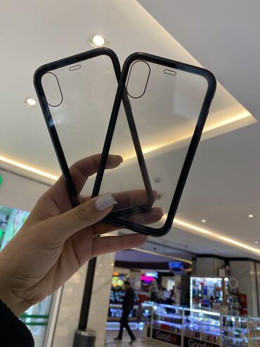 Lenovo s820 чехлы - Кыргызстан: Двухсторонний магнитный чехол на все модели iphone и xiomi