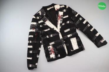 Жіночий піджак з візерунками Silk Line, р. М   Довжина: 63 см Ширина п
