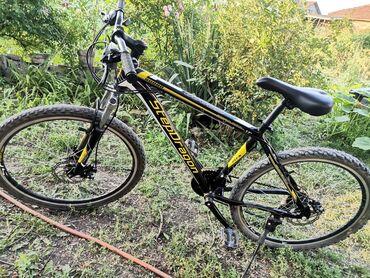 Gume - Srbija: Bicikla kao nova sa diskovima i jakim gumama sa sitnim eksercicima kao