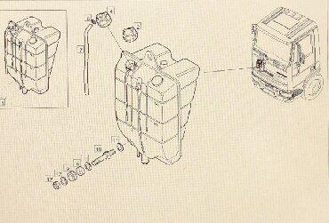 audi 100 2 ат в Кыргызстан: Расширительный бак на İveco. 328)5 0 0 0 с о м. 7 0 0 0 с о м