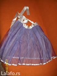 Ljubicasta suknja kao nova, bez ostecenja i fleka duzina 46 cm,  obim  - Nis