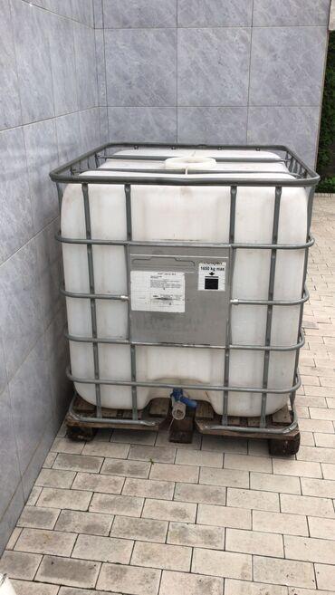 легковой прицеп грузоподъемность 1000 кг в Кыргызстан: Еврокуб чистый, с деревянным поддоном Для питьевой и поливной воды