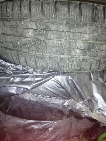 шины 205 55 r16 зима в Кыргызстан: Продаю зимние шины ice navi. Бу состояние хорошее 3шт. Размер 205/55