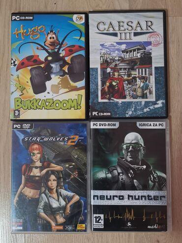 Igrice-za-xbox - Srbija: Četiri original igrice za PC: - Caesar III, - Star Wolves 2, - Neuro