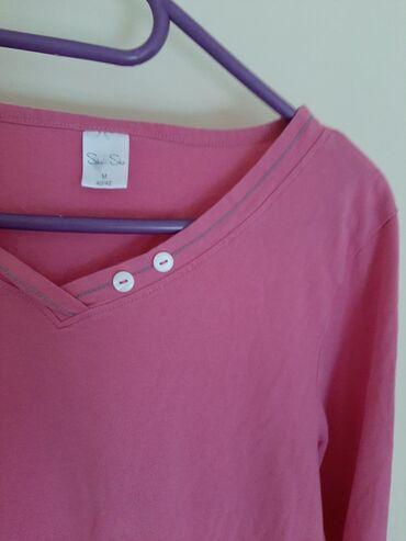 Majica dug - Srbija: Roze majica dugi rukav. Veličina M
