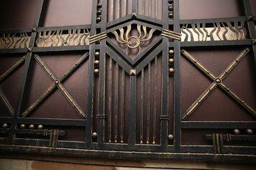 Кованные ворота изготовленные нами в Бишкек