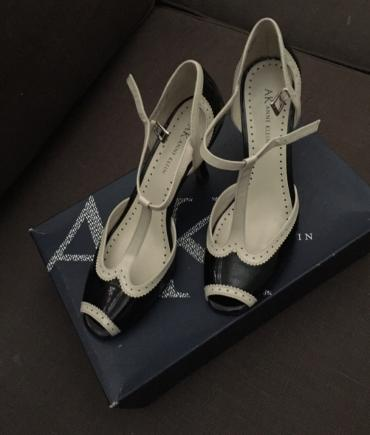 Anne klein ladies shoes. Size 38,5. New with box. Never worn. Peep toe