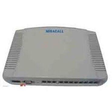 """IT, internet, telekom - Azərbaycan: Mini ATS """"MiracallMiracall:2 şəhər \ 8 daxili4 şəhər \ 16 daxili4"""