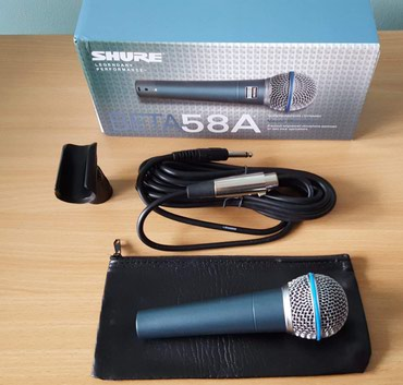 Shure Beta 58 Mikrofon - Nis