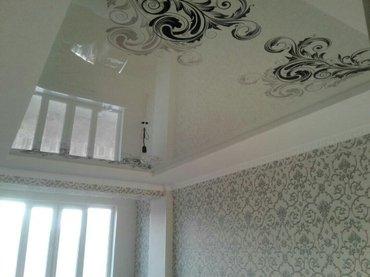 натяжные потолки с фотопечатью глянцевые матовые и сатин   в Ош