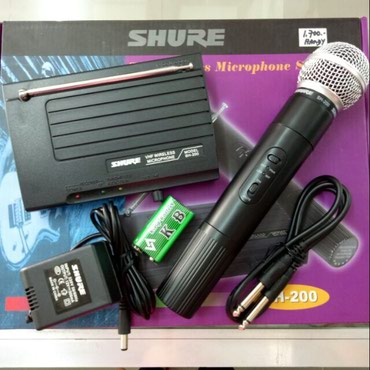 Bakı şəhərində Shure SH-200 Wireless Microphone