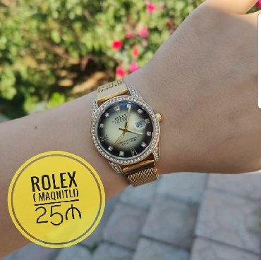 maqnit-pazllar - Azərbaycan: Qızılı Qadın Qol saatları Rolex