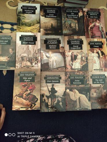 художественные книги в Кыргызстан: Продаю книги, художественная литература на английском языке. Каждая