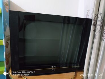 Б/у БОЛЬШОЙ телевизор в хорошем состоянии. Экран показывает криво