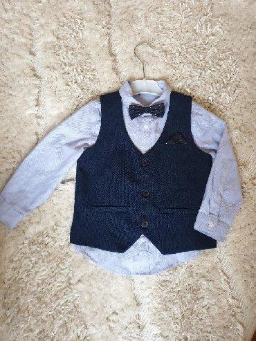 Ostala dečija odeća | Crvenka: Komplet za dečake vel 3-4. Kao novo obučeno za rođendan. Košulja