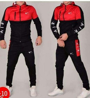 Sport i hobi - Sopot: Nike trenerka komplet crvena muška NOVO M S L XL XXL 3XL