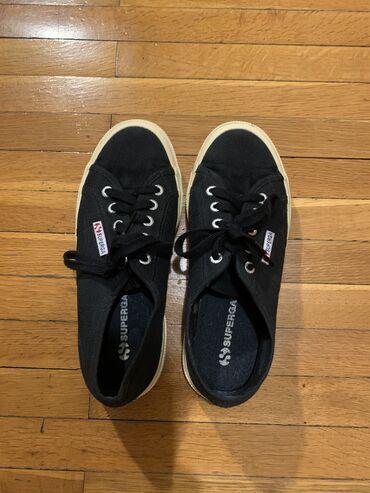 Superga αθλητικά παπούτσια μαύρα νούμερο 38