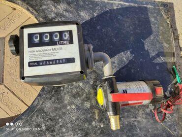 Насос для перекачки жидкости помповый со счётчикомНапряжение
