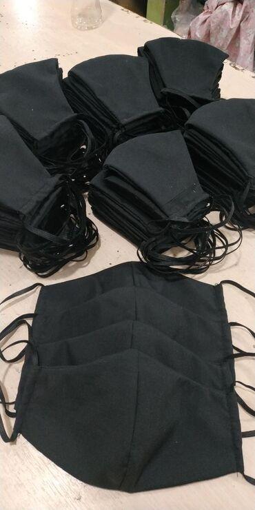 Черные хб маски оптом на заказ
