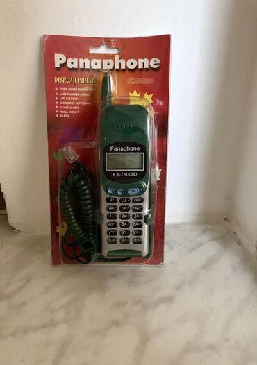 PANAPHONE EV TELEFONU. Bütün ev telefonunda olan funkciyalari daşiyir