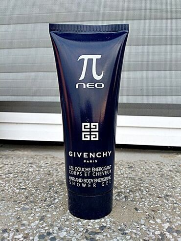 Kosa - Beograd: Givenchy Pi Neo (za kosu i telo ) hair and body energizing shower gel