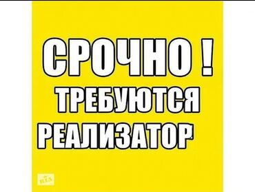 Поиск сотрудников (вакансии) - Кыргызстан: Срочно в отдел продаж требуется Реализаторы ! График Работы с 10 до 18