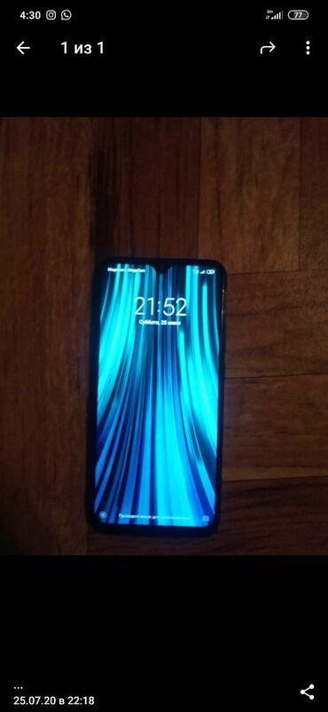 Мобильные телефоны - Базар-Коргон: Б/у Xiaomi Redmi Note 8 128 ГБ Черный