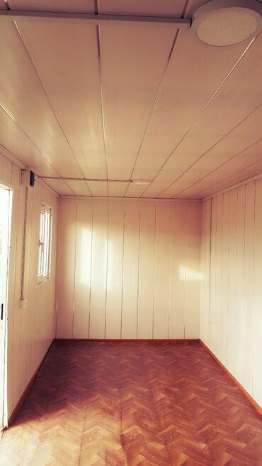 konteyner ofis - Azərbaycan: Ucuz konteyner. Elektik sistemi çəkilmiş, obşivka olunmuş, split