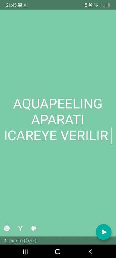 avto servis icareye verilir in Azərbaycan | DIGƏR KOMMERSIYA DAŞINMAZ ƏMLAKI: Tep teze yep yeni aquapeeling aparati icareye verilir 800 azn