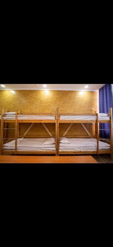 двухъярусные кровати бу в Кыргызстан: Продаются двухярусные кровати с матрасом, в отлично состоянии. 200x80