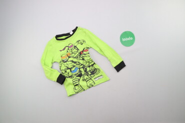 Топы и рубашки - Киев: Дитячий лонгслів з черепашками ніндзя Nickelodeon    Довжина: 39 см Ши