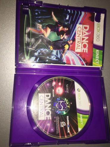 Central 23 - Srbija: Kinect Dance Central igrica za xbox 360, malo oštećena, ispravna