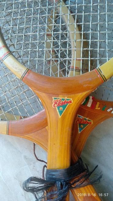 Ракетки в Азербайджан: Деревяные Ракетки для Большого Тенниса .Времен СССР приблизительно