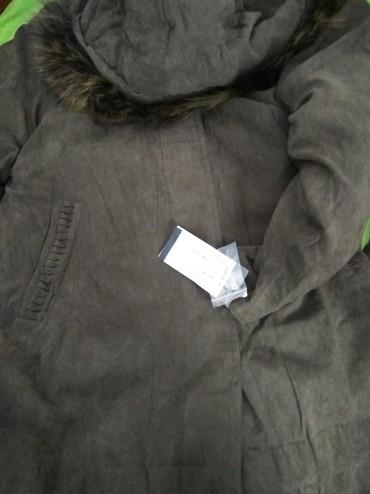 Новое пальто (микрофибер), с отстегивающим теплым подкладом и
