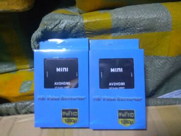переходник hdmi на av в Кыргызстан: Переходник HDMI-колокольчики, видео конвертер