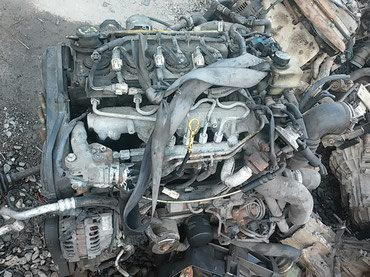 Продаю двигатель на мазду 6 дизель 2.0 привазной в Бишкек