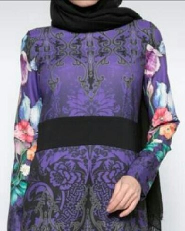 фиолетовое платье в пол в Кыргызстан: Новое красивое платье в пол. Производство - Турция  Размер - S