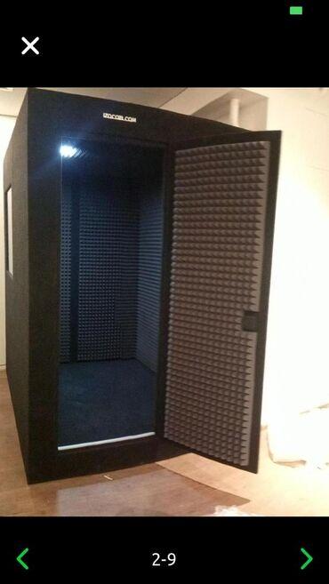 Акустическая кабина для звукозаписи