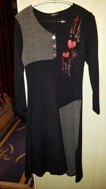 Платье трикотаж. новое. размер l. т/у в Каракол