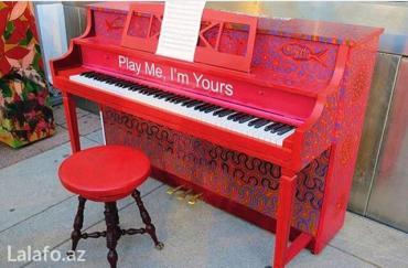 Bakı şəhərində Fortepiano dersleri