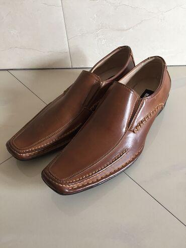 44 - Srbija: Braon elegantne Madden cipele, NOVO, velicina 10 tj 44(43)