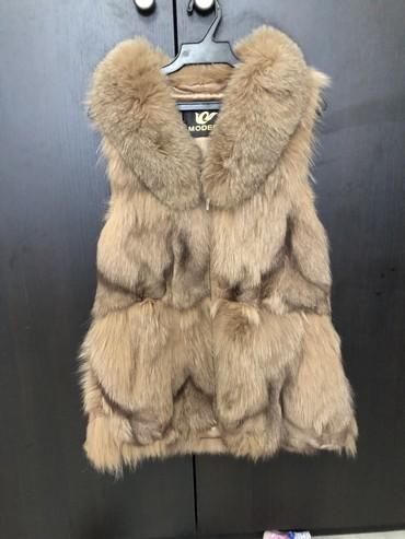 жилетка натуральный мех в Кыргызстан: Натуральный мех. Размер М
